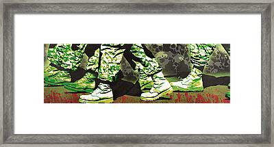 Psalm 23 4 Framed Print by Tai Taeoalii