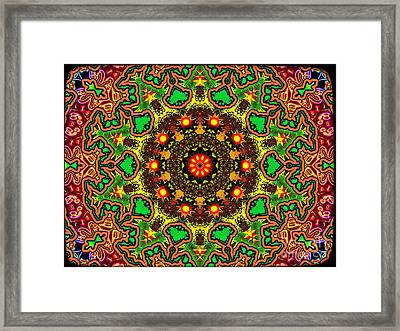 Psych Framed Print by Robert Orinski