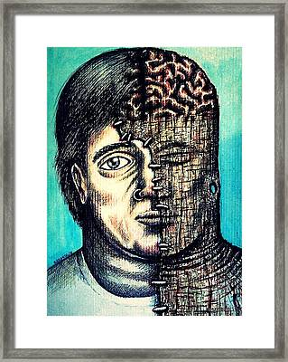 Psychological Piercing Framed Print by Paulo Zerbato