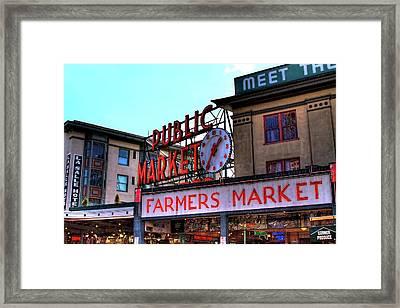Public Market II Framed Print by David Patterson