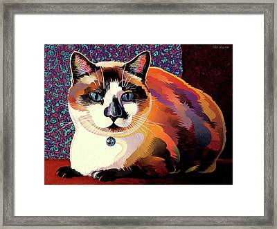 Puddin Framed Print by Bob Coonts