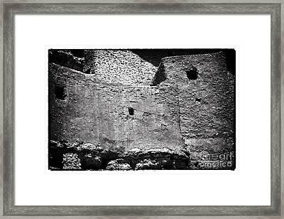 Pueblo Castle Framed Print by John Rizzuto