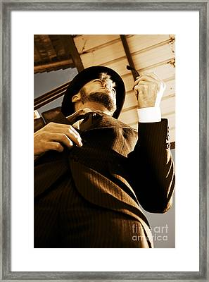 Puffing Pipe Dreams Framed Print by Jorgo Photography - Wall Art Gallery
