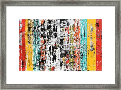 Pulsations Framed Print by Sumit Mehndiratta