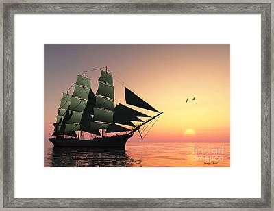 Pulse Of Life Framed Print by Corey Ford