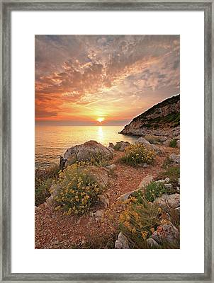 Punta Rossa Framed Print by Paolo Corsetti