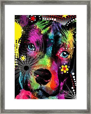 Puppy  Framed Print by Mark Ashkenazi