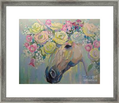 Purity Framed Print by Kimberly Santini