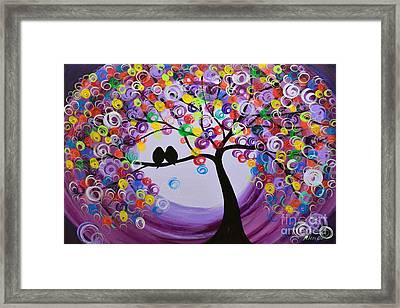 Purple 5518 Framed Print by Mariana Stauffer