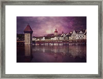 Purple Haze Framed Print by Carol Japp