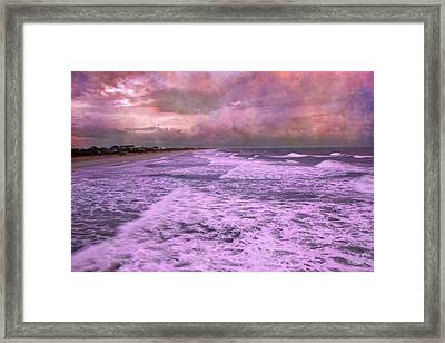 Purple Majesty  Framed Print by Betsy Knapp