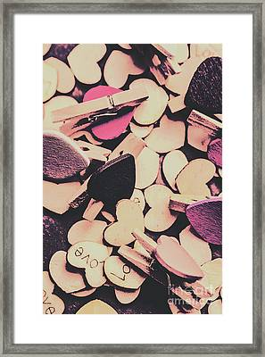 Purple Messy Love Framed Print by Jorgo Photography - Wall Art Gallery