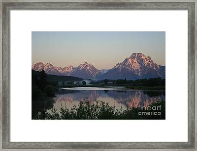 Purple Mountain Majesty  Framed Print by Paula Guttilla