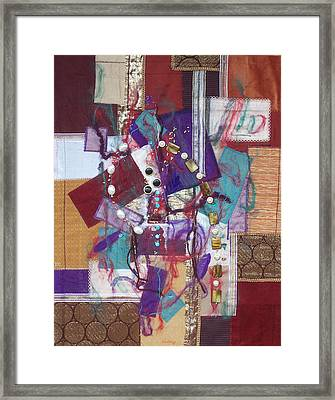 Purple Passion Framed Print by Sue Gilliam