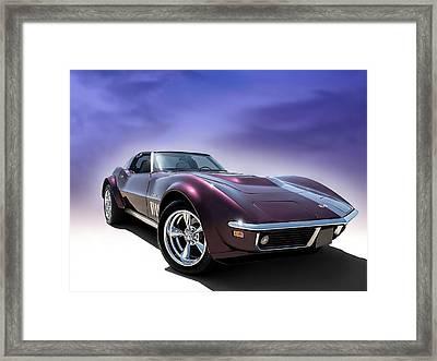 Purple Stinger Framed Print by Douglas Pittman