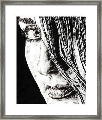 Purpose Framed Print by Richard Young