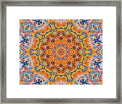 Pursuit Of Happiness Framed Print by Natalie Holland