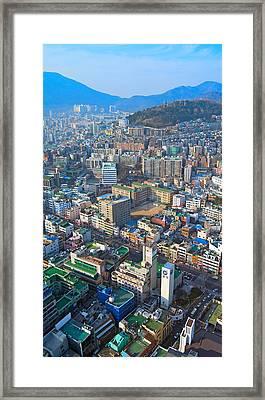 Pusan City South Korea 2012 Framed Print by Eduard Kraft