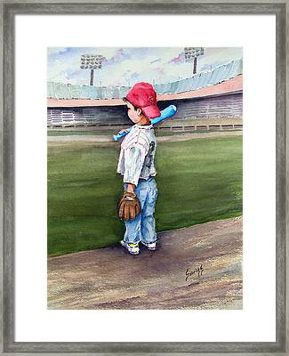 Put Me In Coach  Framed Print by Sam Sidders
