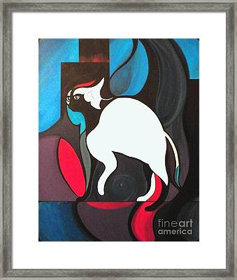 Pyewacket Framed Print by John Lyes