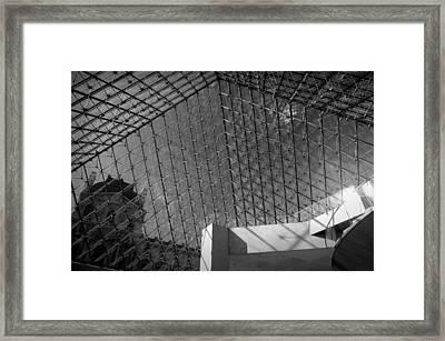 Pyramide Du Louvre Framed Print by Sebastian Musial