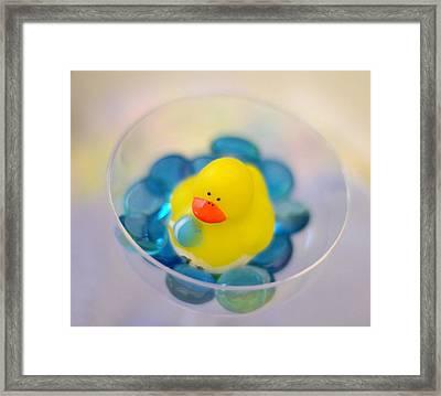Quack Framed Print by Linda Mishler