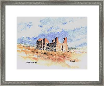 Quarari Mission Framed Print by Sam Sidders