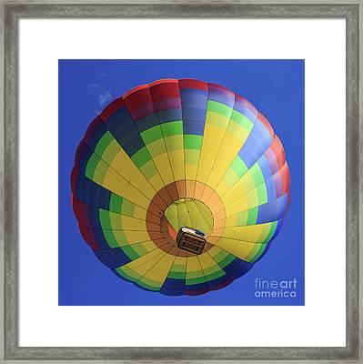 Quechee Vermont Hot Air Balloon Festival 4 Framed Print by Edward Fielding