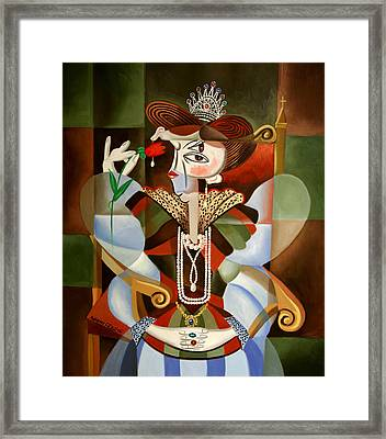 Queen For A Day Framed Print by Anthony Falbo