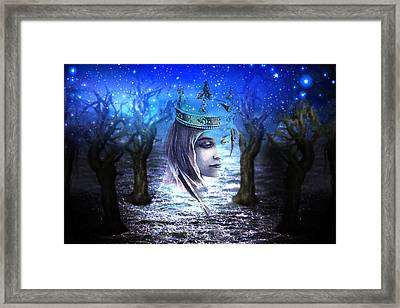 Queen Of Air And Darkness Framed Print by Lisa Yount