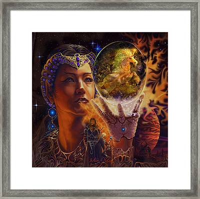 Queen Of Air Framed Print by Steve Roberts