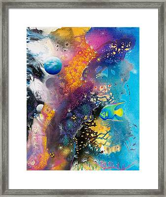 Queen Of The Reef Framed Print by Lee Pantas