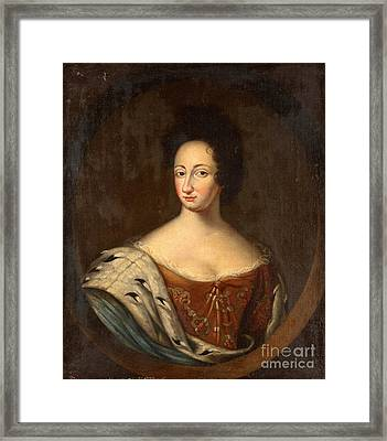 Queen Ulrika Eleonora  Framed Print by Celestial Images