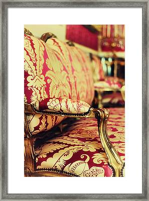 Queen's Apartments - Let Them Sit Framed Print by Georgia Fowler