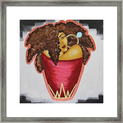 Queens Be Winning Framed Print by Aliya Michelle