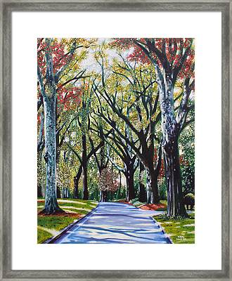Queens Road West Framed Print by Jerry Kirk