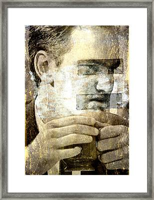 Quentin Framed Print by Andrea Barbieri