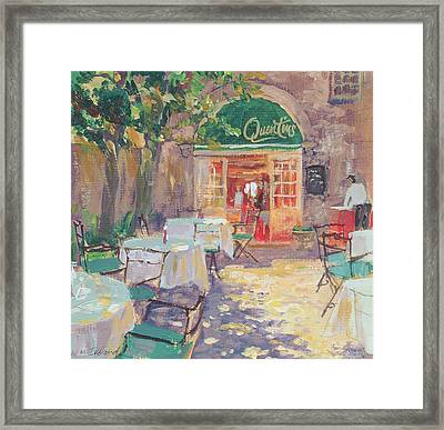Quentins Framed Print by William Ireland