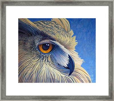 Quiet Joy Framed Print by Brian  Commerford