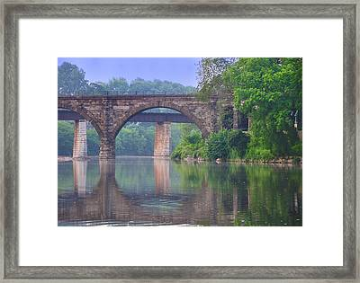 Quiet River Framed Print by Bill Cannon