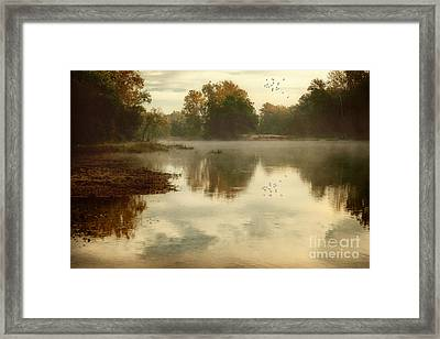 Quiet River Framed Print by Tamyra Ayles