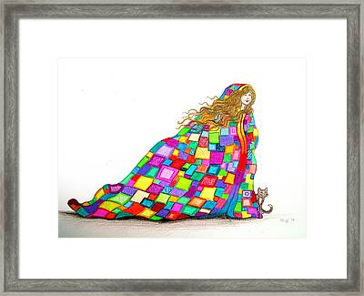 Quilted Dreams Framed Print by Nick Gustafson