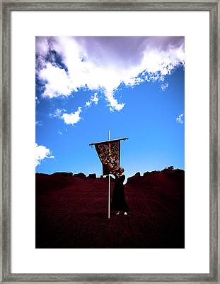 Quilted Sky  Framed Print by Scott Sawyer