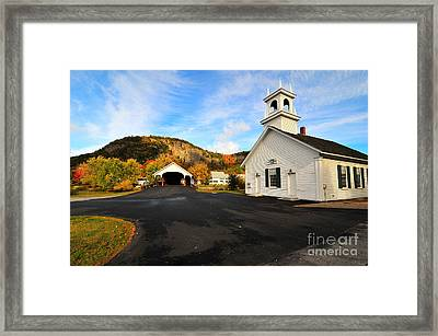 Quintessential New England Framed Print by Catherine Reusch  Daley