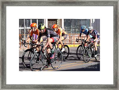 Quitting Is Not An Option Framed Print by Natalie Ortiz
