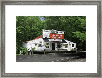 Rabbit Hash Framed Print by Tony Gayhart