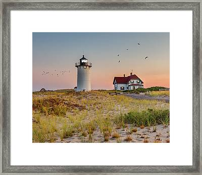 Race Point Light Cape Cod Framed Print by Bill Wakeley