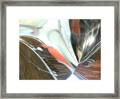 Radial Reflection 2 Framed Print by Donna McLarty