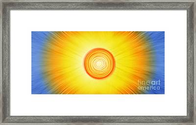Radiance Framed Print by Tim Gainey