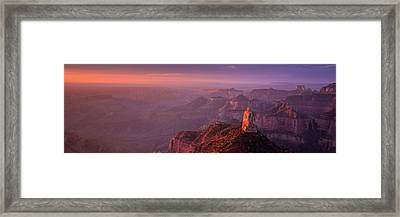 Radiant Dawn Framed Print by Mikes Nature